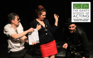 Gaiety's one year part-time acting courses now enrolling