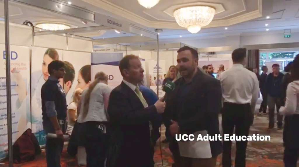 Interview with Cian O'Mahony of UCC Adult Continuing Education