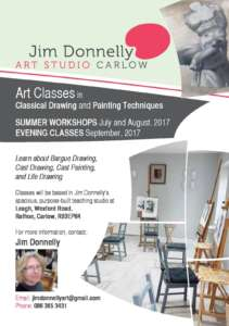 Jim Donnelly Art Studio
