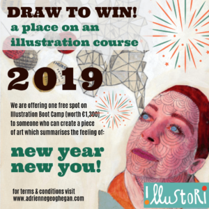 Win €1300 Tutition to Top Dublin Illustration Class