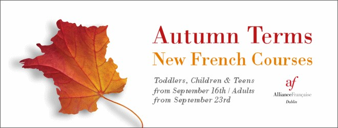 Autumn Term at the Alliance Française