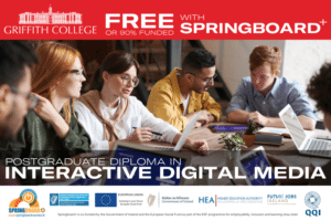 Fully Funded Postgraduate Diploma in Interactive Digital Media