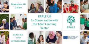 EPALE UK 2020: In Conversation with the Adult Learning Sector