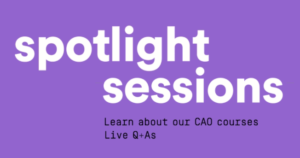 Catch IADT's Spotlight Sessions online this spring.