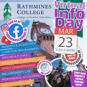 Rathmines College – Virtual Open Day