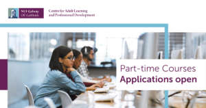 Online Applications Open for Part-time Courses at NUI Galway