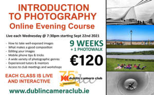 Introduction to Photography Course @ Dublin Camera Club